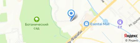 Дом студентов на карте Алматы