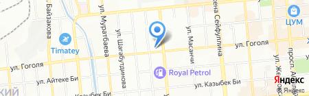 Тарлан на карте Алматы
