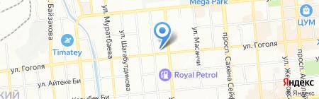 Трикотаж Алеми на карте Алматы