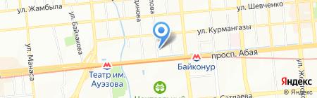 Angel на карте Алматы
