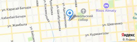 Crystal Catering на карте Алматы