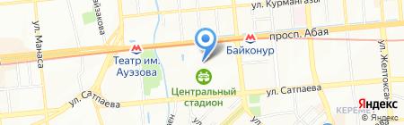 Федерация гимнастики Республики Казахстан на карте Алматы