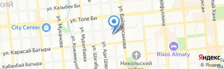 SkyFix на карте Алматы