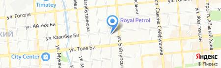 Татьяна на карте Алматы