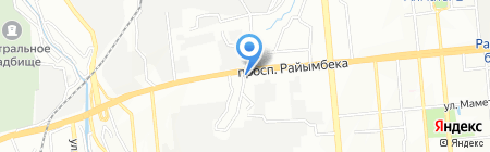 Дойт на карте Алматы