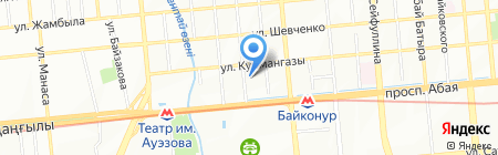 Азия Дент на карте Алматы