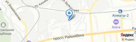 АТЭКС Логистик на карте Алматы
