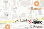 Схема проезда до компании Кройка и Шитье в Алматы