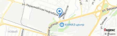 Аквафитнес на карте Алматы