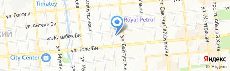Satin на карте Алматы