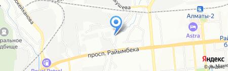Дидар Транс на карте Алматы