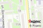 Схема проезда до компании Boss Building в Алматы