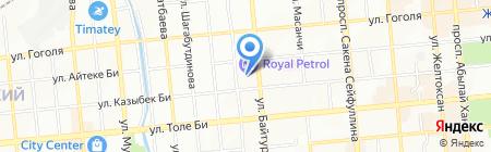 Ramada Almaty на карте Алматы