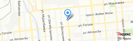 Асет-Д на карте Алматы