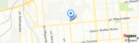Жангиз-Тобинская Нефтебаза на карте Алматы