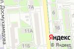 Схема проезда до компании Асет-Д в Алматы