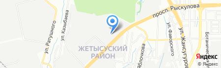Viola Plast на карте Алматы