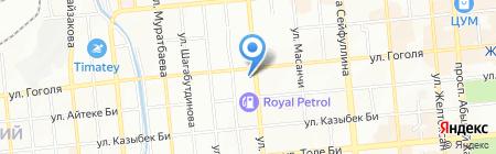 Балет на карте Алматы