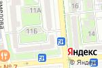 Схема проезда до компании Pharm Express в Алматы