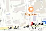 Схема проезда до компании ATACOM-2006 в Алматы