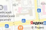Схема проезда до компании Дос Полис в Алматы