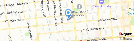 Академия декоративного искусства на карте Алматы