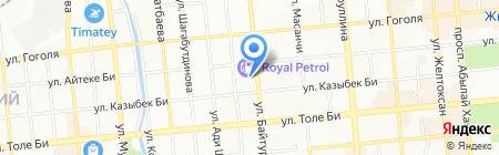 Интермотосервис на карте Алматы