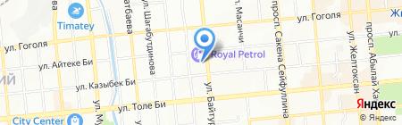 Автоателье на карте Алматы