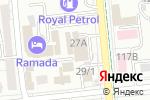 Схема проезда до компании Интермотосервис в Алматы