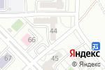 Схема проезда до компании MaxGYM в Алматы