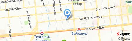 Казахтелеком АО на карте Алматы