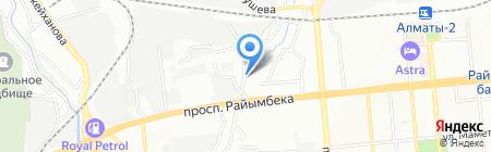 Аида продуктовый магазин на карте Алматы