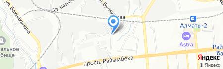 Novator на карте Алматы