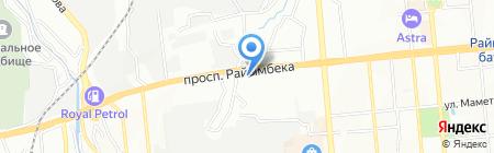 Аламан Курылыс на карте Алматы