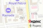 Схема проезда до компании ТрансОйл в Алматы