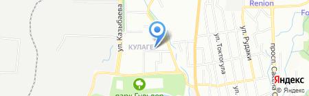 Асет магазин хозяйственных товаров и бытовой химии на карте Алматы