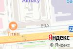Схема проезда до компании Classico в Алматы