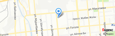 Нотариус Бостанова Г.С. на карте Алматы