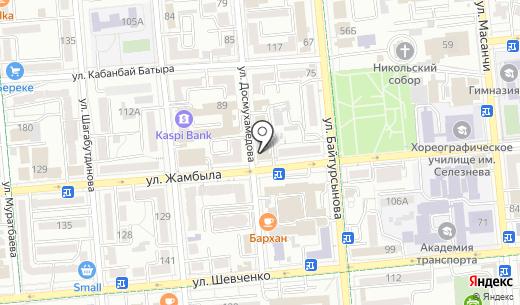 Форум предпринимателей Казахстана. Схема проезда в Алматы