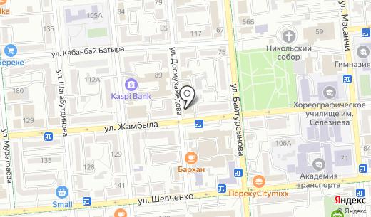 Education Services. Схема проезда в Алматы