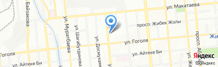 Ремонтно-сервисная компания на карте Алматы