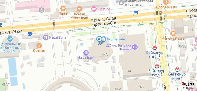 Казахстан, Алматы, проспект Абая, 44А