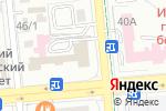 Схема проезда до компании Сырласу в Алматы