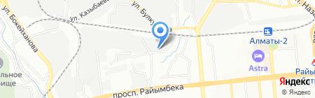 Жибек Жолы Курылыс Сервис на карте Алматы
