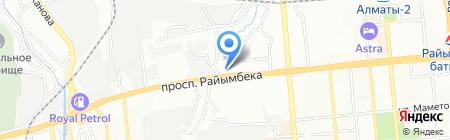 Grand Steel на карте Алматы