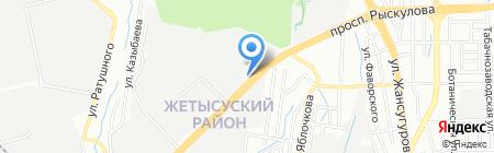 Казтранскомплект на карте Алматы
