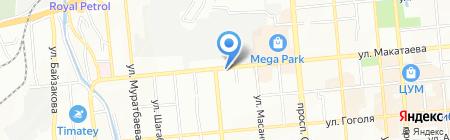 Еврокерамика Ideal Standard на карте Алматы