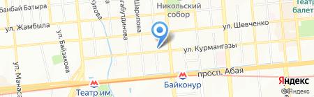 Шик на карте Алматы