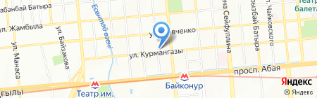 Технолюкс на карте Алматы