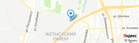 Гидравлика на карте Алматы